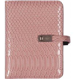 Kalpa 1311-56 Pocket organiser gloss croco pink