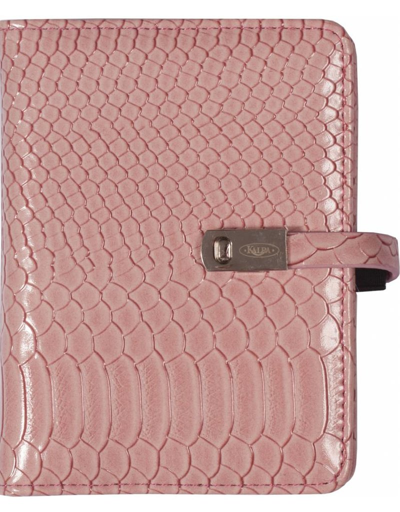 Kalpa Pocket (junior) organizer gloss croco roze