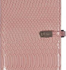 Kalpa 1111-56 Personal (standaard) organiser croco roze