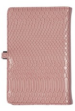 Kalpa 1111-56 Kalpa Personal Organisers Leather with Paper Filler Weekly Planner, Journal, Diary - Croco Pink