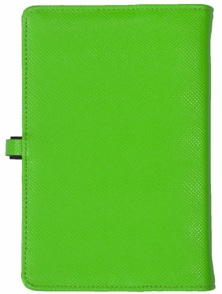 Kalpa 1111-57 Kalpa Personal Organisers Leather with Paper Filler Weekly Planner, Journal, Diary - Marker Green