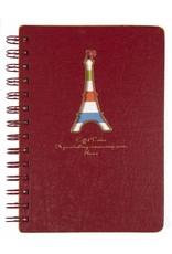 Dreamnotes D5129-1 Dreamnotes notebook Eiffel Tower 13 x 18,5 cm Red