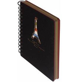 Dreamnotes D5129-4 Dreamnotes notitieboek Eiffeltoren 13 x 18,5 cm grijs