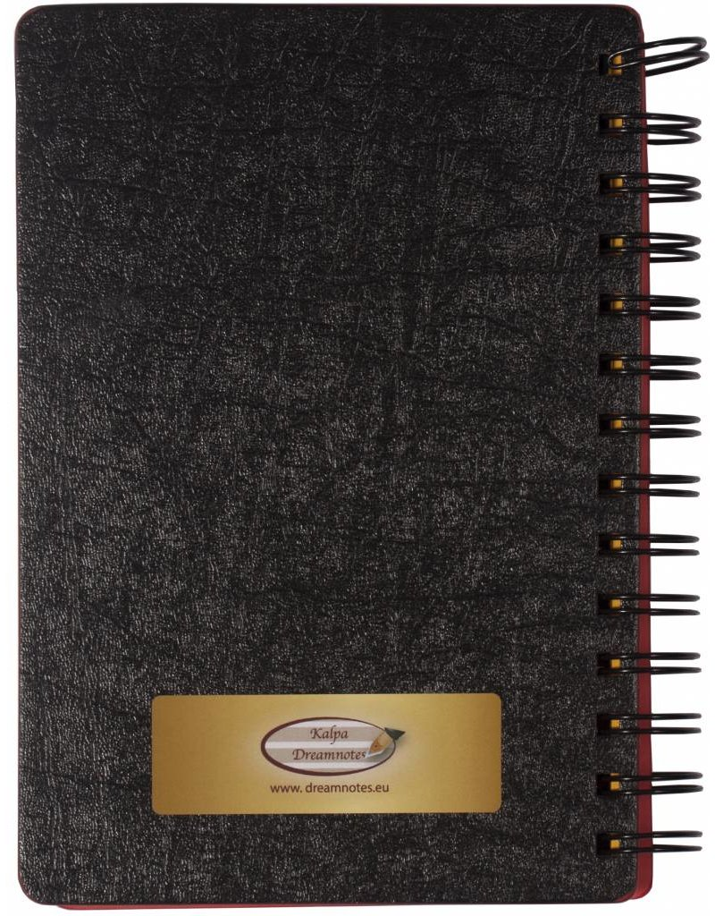 Dreamnotes 5 cm. grijs