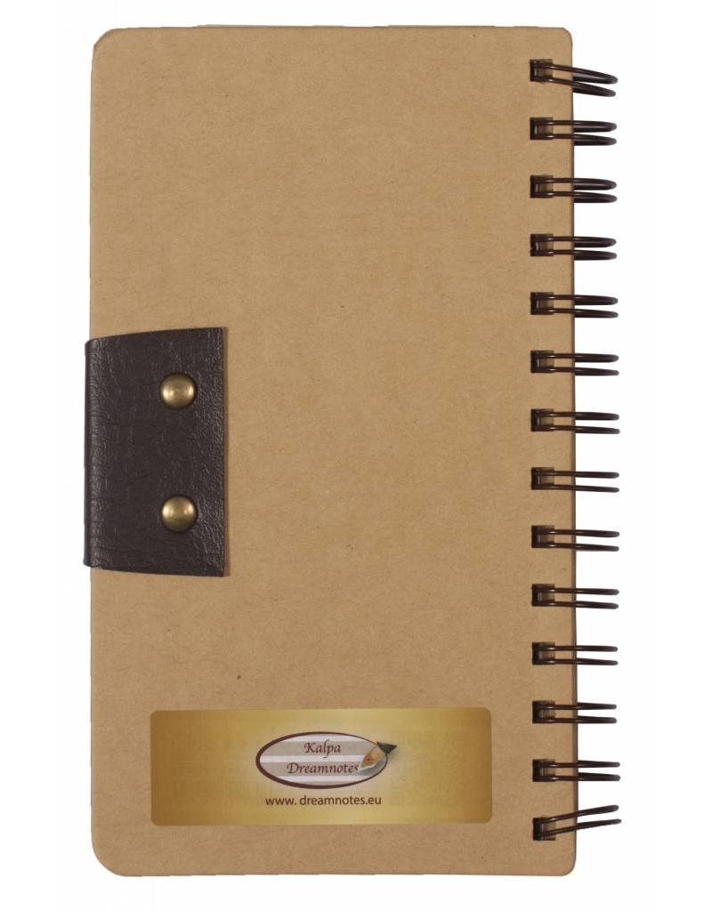 Dreamnotes 5 cm. Mind geel