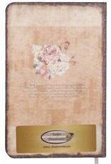 Dreamnotes D8025-1 Dreamnotes notitieboek My Victoria 9 x 14 cm. - wit roze roze
