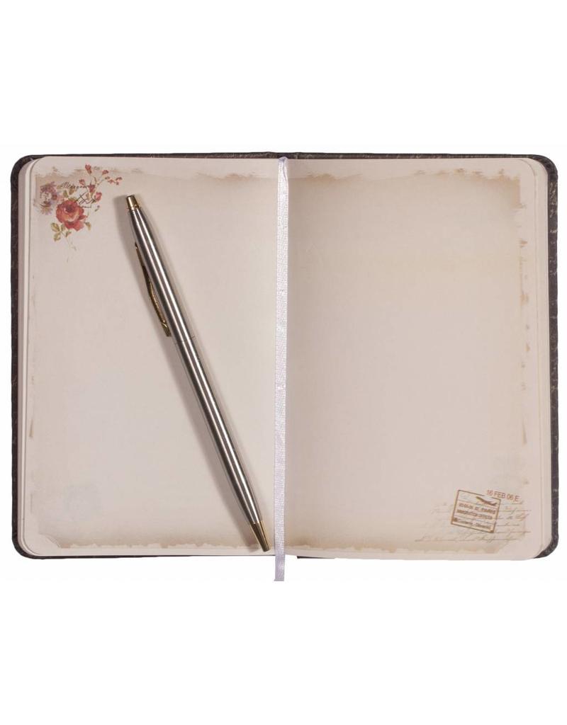 Dreamnotes Dreamnotes notitieboek My Victoria 9 x 14 cm. - Yellow roze