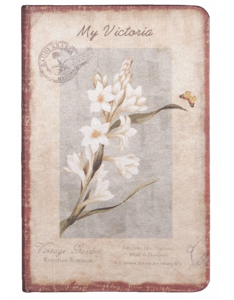 Dreamnotes Dreamnotes notitieboek Mijn Victoria: witte Orchidee 9 x 14 cm.