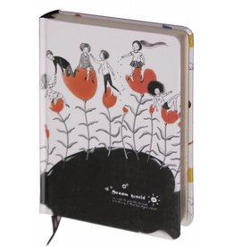Dreamnotes D1354-2 Dreamnotes notitieboek bloemen