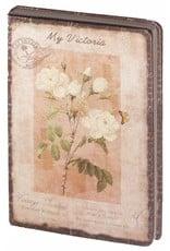 Dreamnotes Dreamnotes notitieboek Mijn Victoria: gele roos 9 x 14 cm.