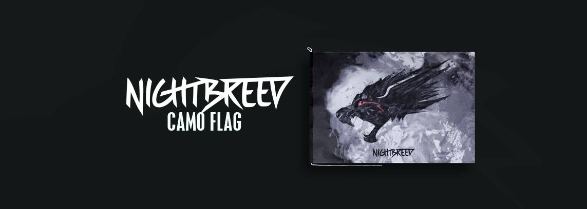 Nightbreed Camo Flag