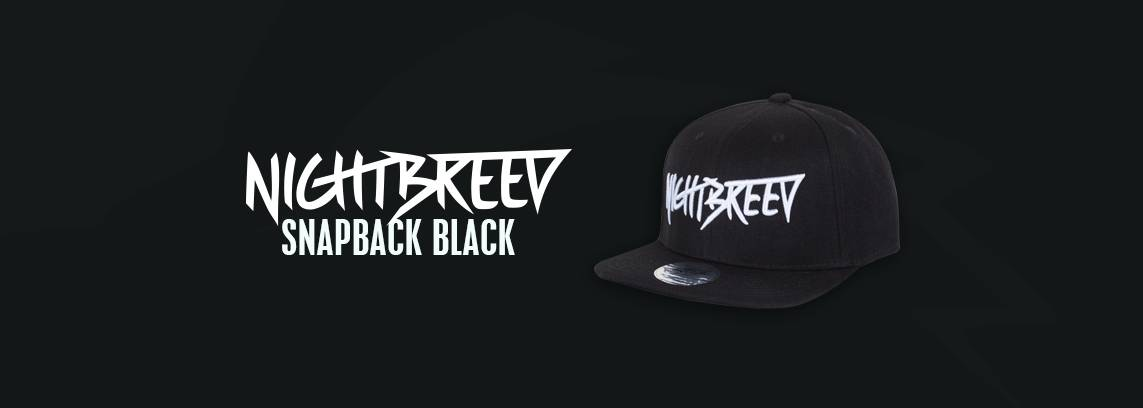 Nightbreed Snapback Black