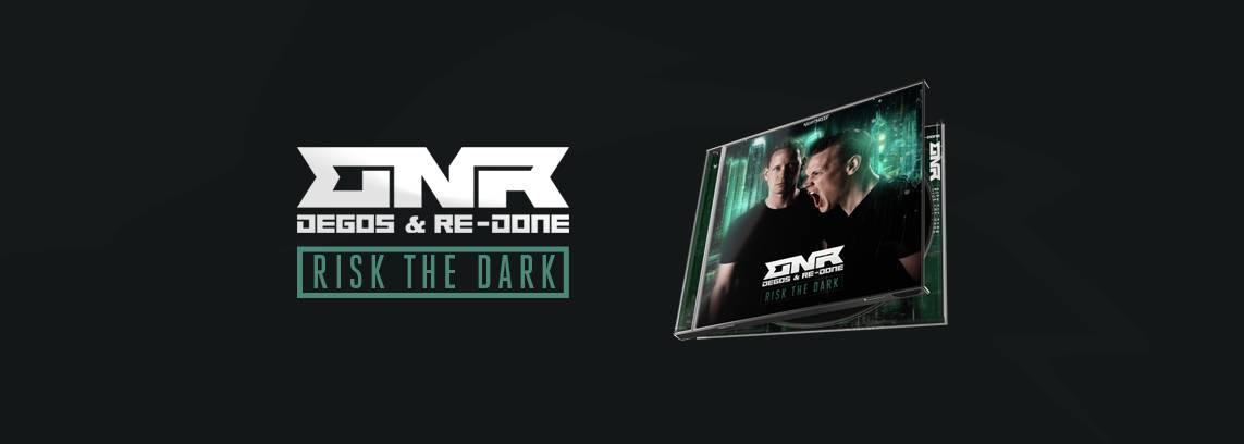 Degos & Re-Done - Risk The Dark (CD Album)