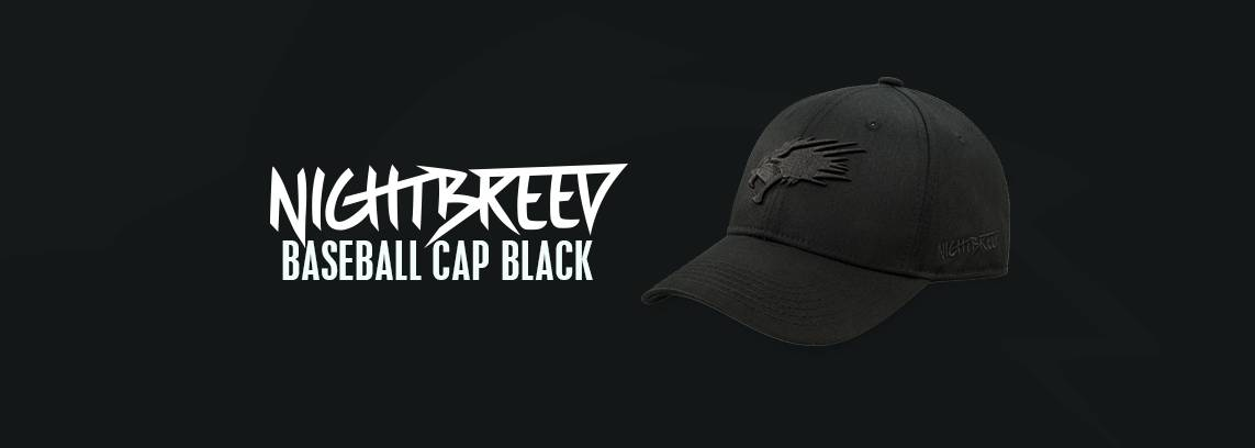 Black on Black Baseball Cap