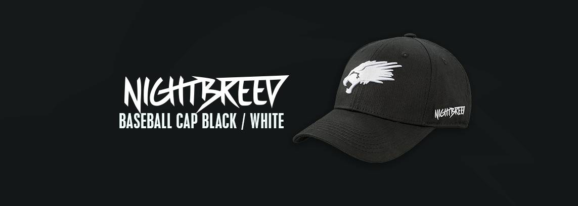 Nightbreed Baseball Cap Black / White