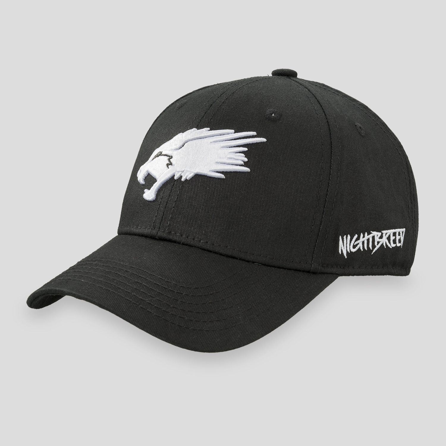 NIGHTBREED BASEBALL CAP BLACK/WHITE