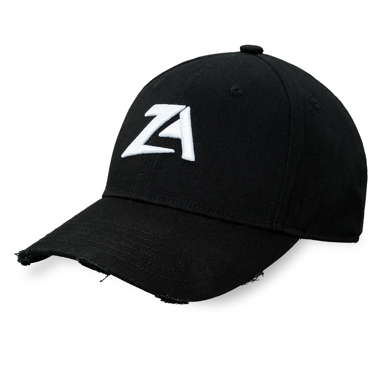 Zac Aynsley baseball cap black/white-2
