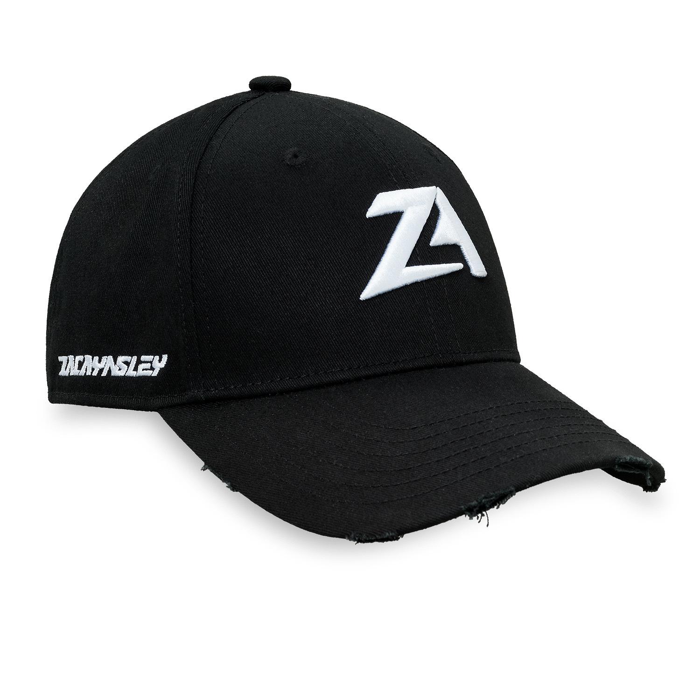 Zac Aynsley baseball cap black/white-1