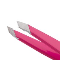 Tweezerman Mini Slant Tweezer Flamingo Pink