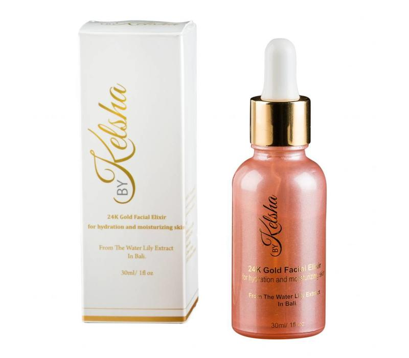 ByKelsha 24K Gold Facial Elixir 30 ml.