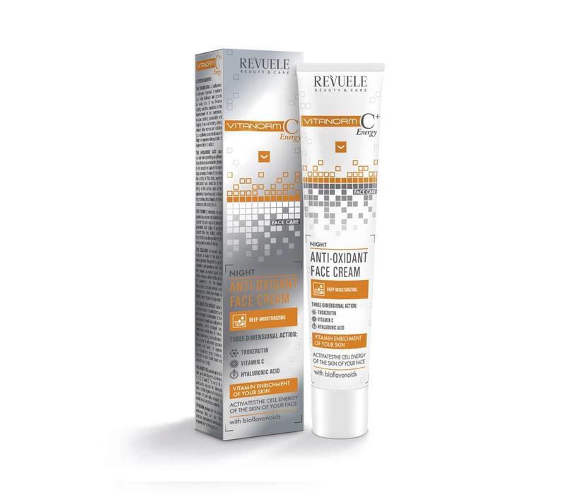 Revuele Vitanorm C+ Energy Anti-oxidant Face Cream - Night