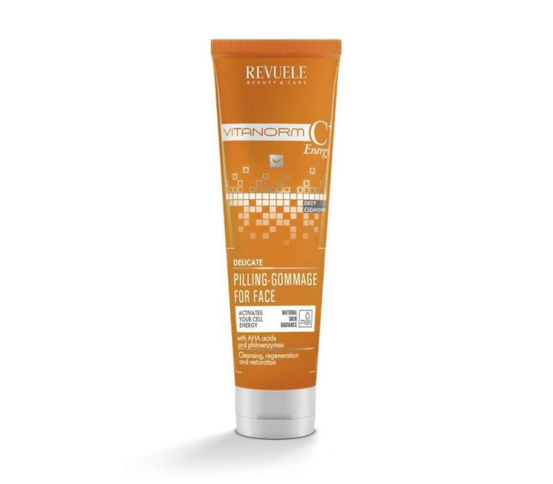 Revuele Vitanorm C+ Energy Pilling-Gommage for face