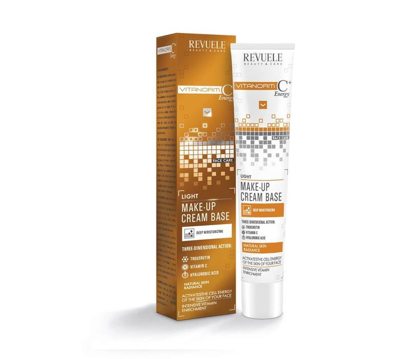 Revuele Vitanorm C+ Energy Make-Up Cream Base - Light