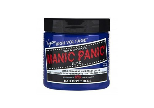 Manic Panic Bad Boy Blue Hair Color