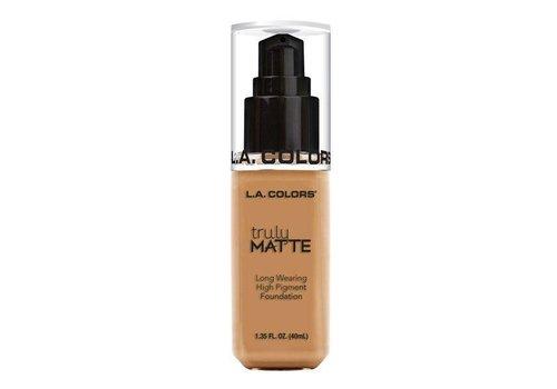 LA Colors Truly Matte Foundation Warm Honey