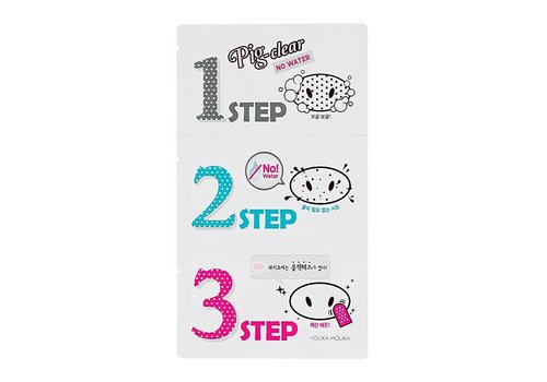 Holika Holika Pig Clear Blackhead 3-Step Kit No Water