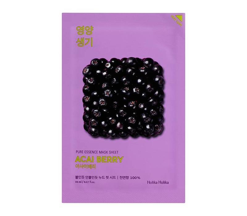 Holika Holika Pure Essence Mask Sheet Acai Berry
