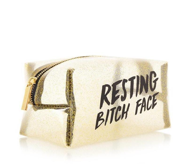 Skinny Dip London B*tch Face Make Up Bag
