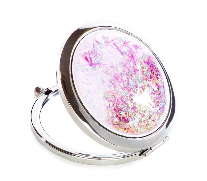 Skinny Dip London Dreamer Glitter Mirror