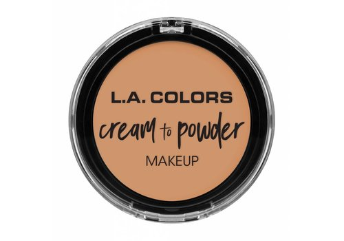 LA Colors Cream to Powder Foundation Natural