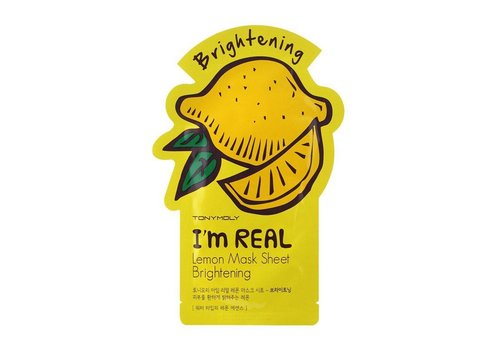 Tonymoly I'm Real Lemon Mask Sheet