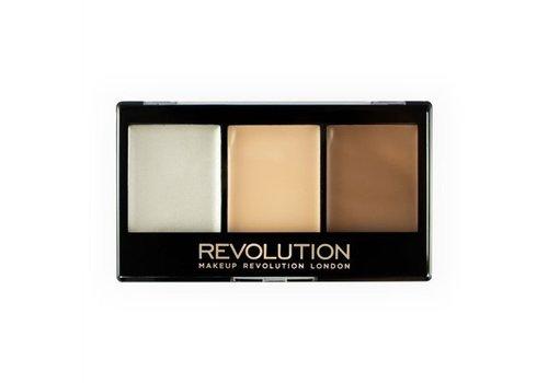 Makeup Revolution Ultra Cream Contour Kit Lightening Contour F01