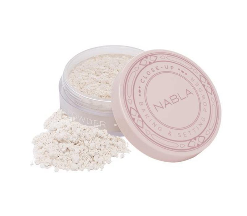 Nabla Close-Up Baking and Setting Powder Translucent