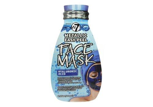 W7 Cosmetics Hyaluronic Acid Face Mask Easy-Peel