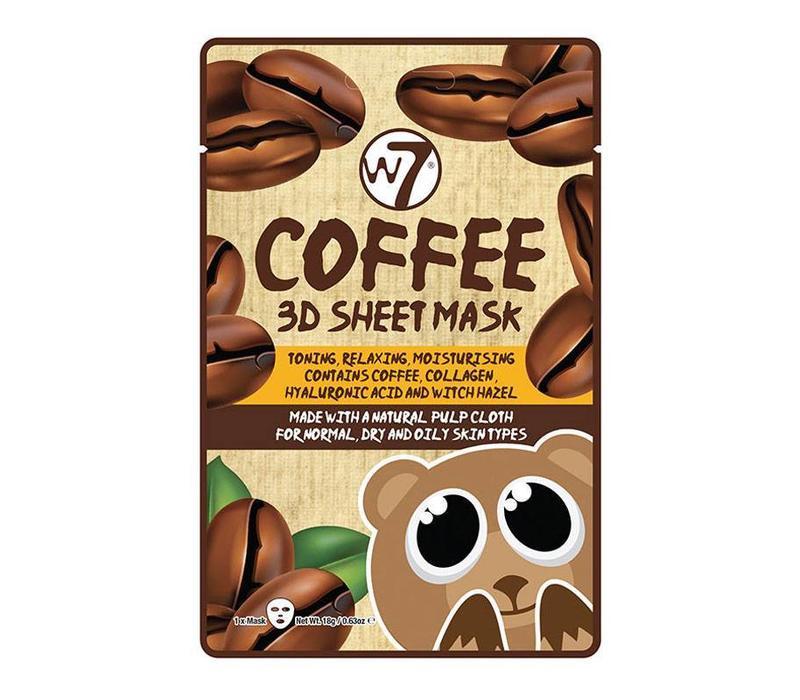W7 Cosmetics Coffee 3D Sheet Mask