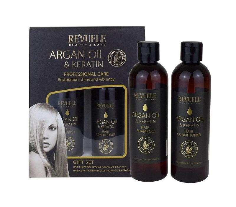 Revuele Argan Keratin Gift Set