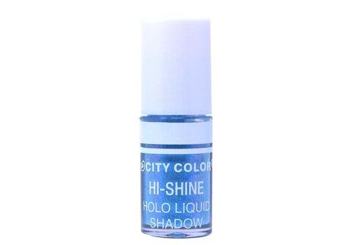 City Color Hi-Shine Holo Liquid Eyeshadow Ocean Blue