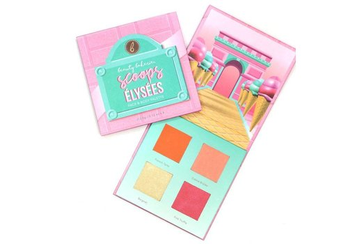 Beauty Bakerie Scoops Elysees Blush Palette