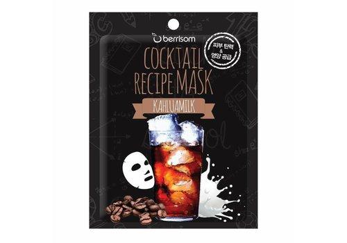 Berrisom Cocktail Recipe Mask Kahlua Milk
