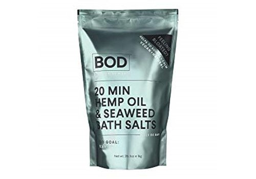 BOD Body on Demand 20  min Seaweed and Hemp Oil Bath Salts