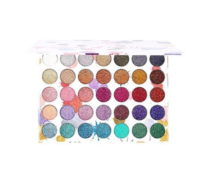 Beauty Creations 35 Color Splash of Glitter Palette