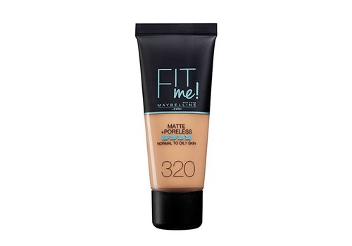 Maybelline Fit Me Matte and Poreless Foundation 320 Natural Tan