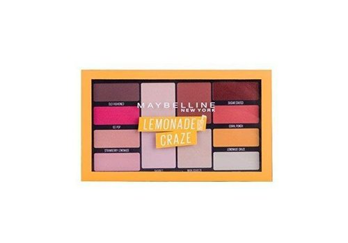 Maybelline Lemon Craze Palette Lemonade