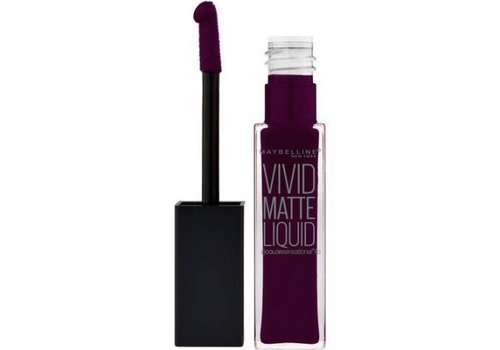 Maybelline Vivid Matte Liquid Lipstick Posessed Plum