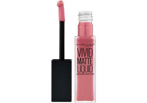 Maybelline Vivid Matte Liquid Lipstick Nude Flush
