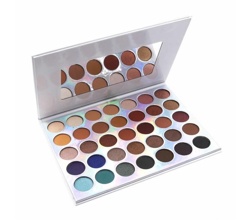 Crown Brush 35 Colour OMG Eyeshadow Collection